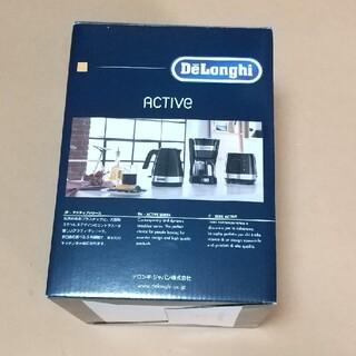 DeLonghi - デロンギ 電気ケトル アクティブ シリーズ ブラック KBLA1200J-BK