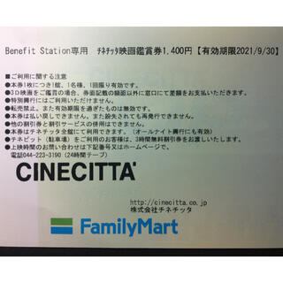 hiro様専用: チネチッタ映画鑑賞券 大人2枚(その他)