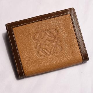 LOEWE - 週末セール LOEWE 折り畳み 財布 ミニウォレット