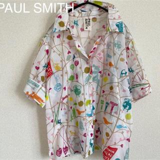 Paul Smith - ポールスミス 柄シャツ 総柄 半袖 軽くて涼しげ☆ アロハ