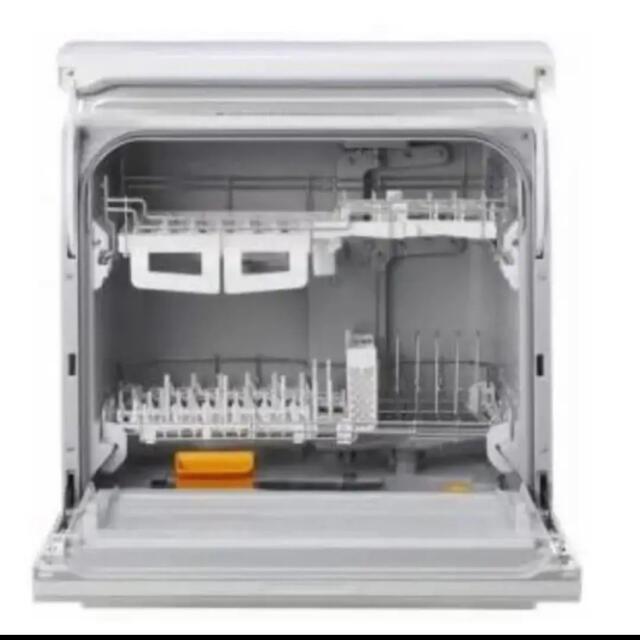 Panasonic(パナソニック)の食洗機 Panasonic NP-TY12-W パナソニック 2019年製 スマホ/家電/カメラの生活家電(食器洗い機/乾燥機)の商品写真