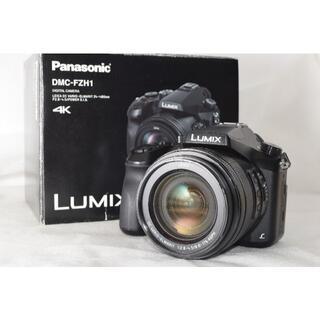 パナソニック(Panasonic)のほぼ新品☆Panasonic LUMIX DMC-FZH1☆4K動画(デジタル一眼)
