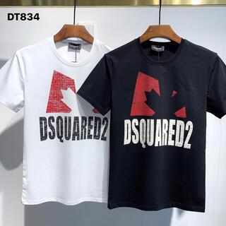 ディースクエアード(DSQUARED2)のDSQUARED2(DT834) 2枚9200円 Tシャツ M-3XLサイズ選択(Tシャツ/カットソー(半袖/袖なし))