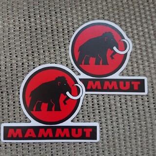 Mammut - マムート mammut 防水ステッカー 2枚セット