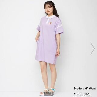 GU - GU GIRLS ポロシャツワンピース HARIBO