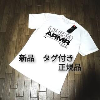 アンダーアーマー(UNDER ARMOUR)の新品 UNDER ARMOUR Tシャツ WHITE(Tシャツ/カットソー(半袖/袖なし))