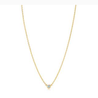 Tiffany & Co. - ティファニー バイザヤード ネックレス 0.14ct