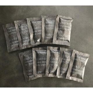 ブラックシリカゲル 除湿 吸湿 乾燥剤 2g 10袋(防湿庫)