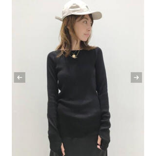L'Appartement DEUXIEME CLASSE - アパルトモン♡ ボートネック Rib Knit