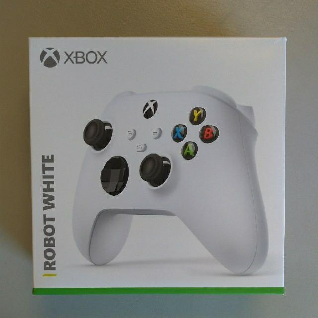 Xbox(エックスボックス)のXboxコントローラー ワイヤレス 純正 正規品 ホワイト white エンタメ/ホビーのゲームソフト/ゲーム機本体(その他)の商品写真