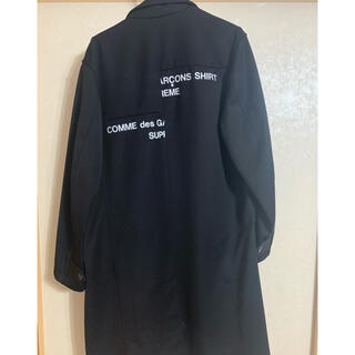 Supreme - シュプリーム コムデギャルソン SHIRT Wool Overcoat