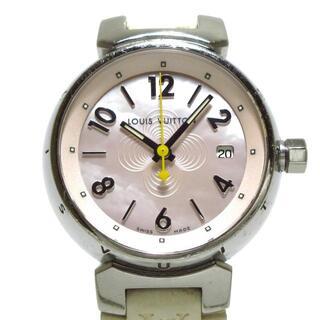 ルイヴィトン(LOUIS VUITTON)のヴィトン 腕時計 タンブール Q1216(腕時計)