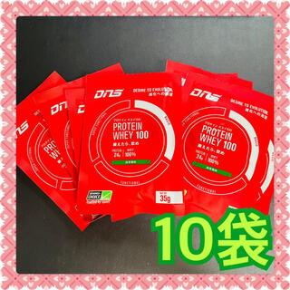 ディーエヌエス(DNS)のDNS プロテインホエイ100 抹茶風味 35g 10袋(プロテイン)