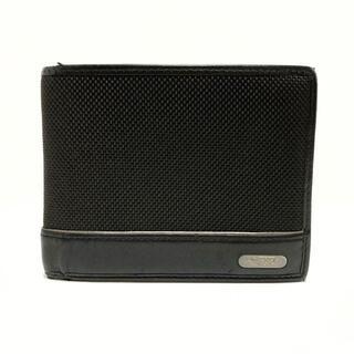 トゥミ(TUMI)のTUMI(トゥミ) 2つ折り財布 - 黒(財布)