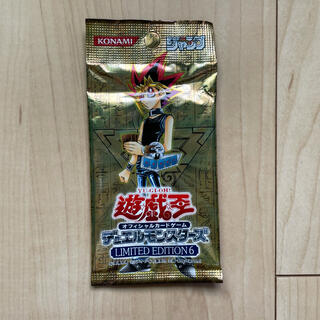 ユウギオウ(遊戯王)の遊戯王カード limited edition6 非売品(Box/デッキ/パック)