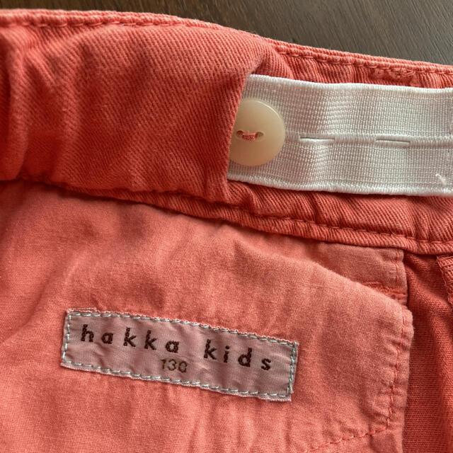 hakka kids(ハッカキッズ)のhakka kids 半ズボン&半袖セット 130 キッズ/ベビー/マタニティのキッズ服女の子用(90cm~)(パンツ/スパッツ)の商品写真