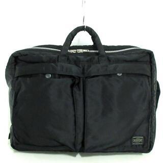 ポーター(PORTER)のポーター ハンドバッグ美品  タンカー 黒(ハンドバッグ)