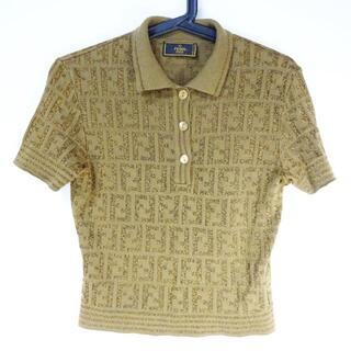 フェンディ(FENDI)のフェンディ 半袖ポロシャツ レディース -(ポロシャツ)