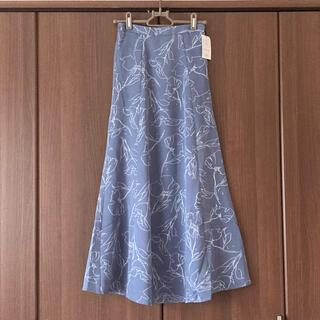 GRL - 本日限定‼️GRL 新作 新品タグ付き 花柄フレアスカート