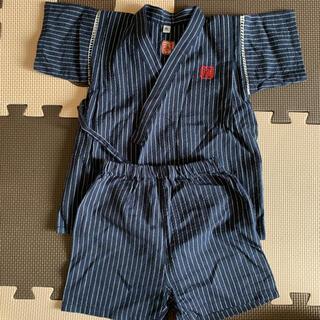 ニシマツヤ(西松屋)の男の子 甚平 90㌢(甚平/浴衣)