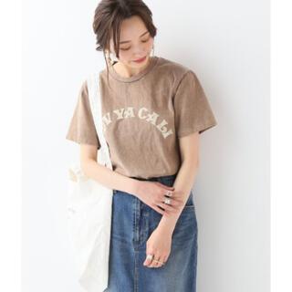 イエナスローブ(IENA SLOBE)のSLOBE IENA mixta ロゴTシャツ(Tシャツ(半袖/袖なし))