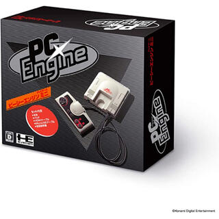 コナミ(KONAMI)のPCエンジン mini(家庭用ゲーム機本体)