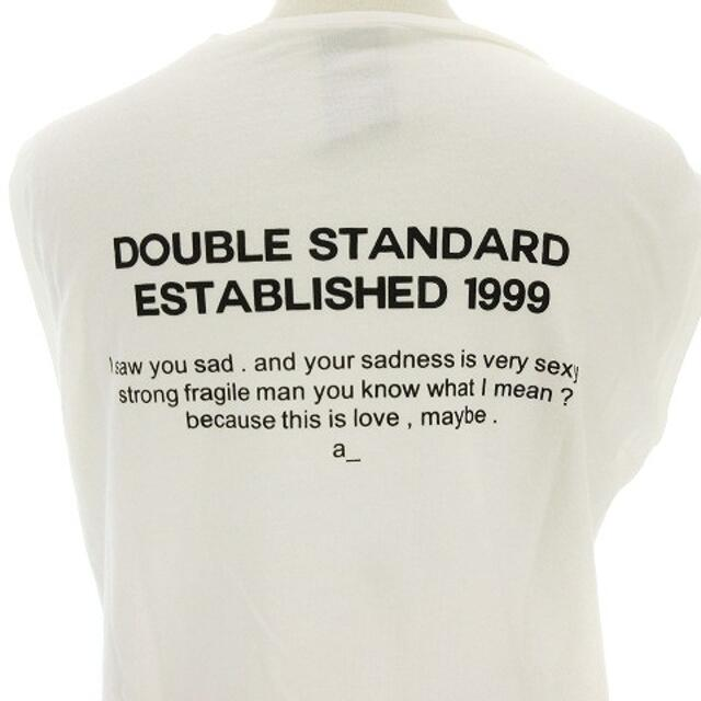 DOUBLE STANDARD CLOTHING(ダブルスタンダードクロージング)のDOUBLE STANDARD CLOTHING ノースリーブ カットソー F レディースのトップス(カットソー(半袖/袖なし))の商品写真