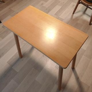 MUJI (無印良品) - 無印良品 ブナ材 コンパクトテーブル