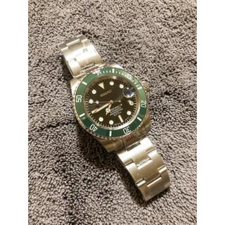 SEIKO - SEIKO セイコー Mod NH35 グリーンサブ タイプ カスタム腕時計