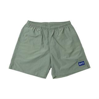 Supreme - BOTT Logo Swim Shorts(olive)