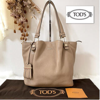 TOD'S - 【美品】TOD'S トッズ  フラワーバッグ 本革 トートバッグ