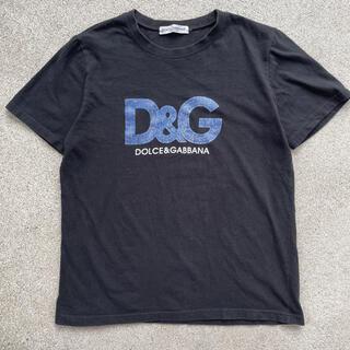 ドルチェアンドガッバーナ(DOLCE&GABBANA)の90s 古着 D&G ドルチェアンドガッバーナ ロゴ tシャツ(Tシャツ/カットソー(半袖/袖なし))