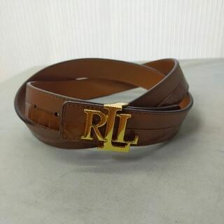 Ralph Lauren - LAUREN RALPH LAUREN ラルフ ローレン レザー ベルト 美品