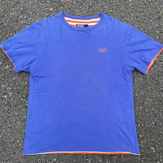 ポロラルフローレン(POLO RALPH LAUREN)の90s 古着 polo sport ポロスポーツ ロゴ ボーダー tシャツ(Tシャツ/カットソー(半袖/袖なし))
