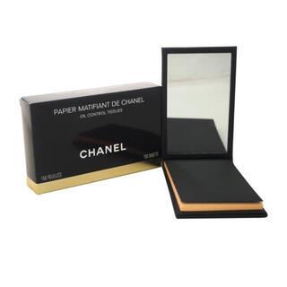 CHANEL - 【箱付き】シャネル ミラーあぶらとり紙 オイルコントロールティッシュ