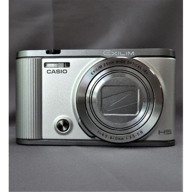 CASIO(カシオ)の美品自撮18倍ズームコンデジ WiFi・フロントシャッター搭載 スマホ/家電/カメラのカメラ(コンパクトデジタルカメラ)の商品写真