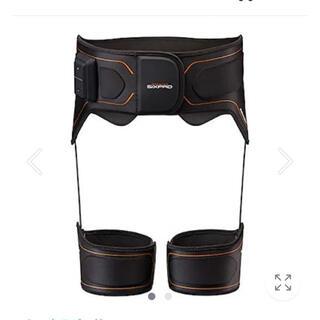 MTG  SIXPat ボトムベルト身体にフィット 「布製ベルト」サイズL(エクササイズ用品)