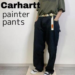 カーハート(carhartt)のCarhartt カーハート ペインターパンツ ボトム ブラック 38×30(ペインターパンツ)