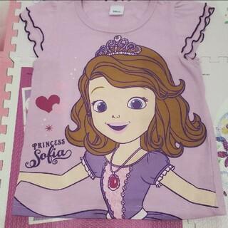 Disney - キッズ 100 Tシャツ 半袖 ソフィア 紫 パープル 女の子 夏物
