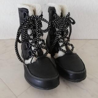 リーボック(Reebok)のリーボック イージートーン 本革 撥水 防寒 ショートブーツ 22cm(ブーツ)