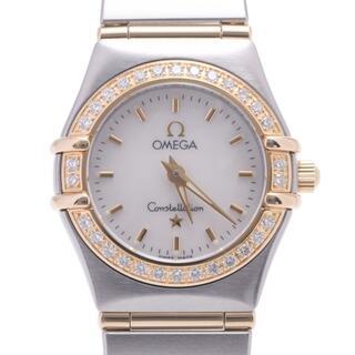 オメガ(OMEGA)のオメガ  コンステレーション ベゼルダイヤ 腕時計(腕時計)