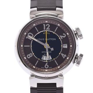 ルイヴィトン(LOUIS VUITTON)のルイヴィトン  タンブール レヴェイユGMT 裏スケ 腕時計(腕時計(アナログ))