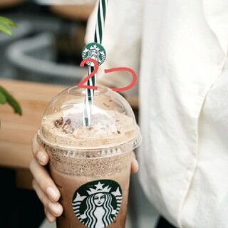 スターバックスコーヒー(Starbucks Coffee)のMa様専用ページ スターバックス中国夏限定 繰り返し使えるストロー2本(タンブラー)
