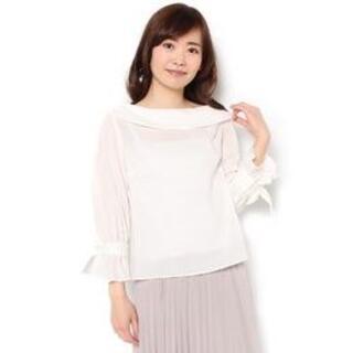 アンドクチュール(And Couture)の◆アンドクチュールの袖口リボン付ブラウス(シャツ/ブラウス(長袖/七分))