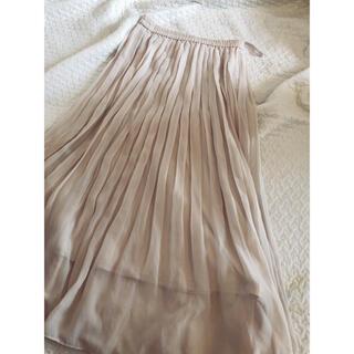ユニクロ(UNIQLO)のユニクロ プリーツロングスカート(ロングスカート)