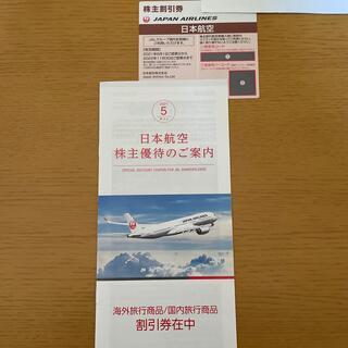 ジャル(ニホンコウクウ)(JAL(日本航空))のJAL 株主優待券 日本航空 2022年11月30日まで(その他)