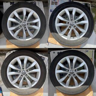 フォルクスワーゲン(Volkswagen)のThe Beetle 純正ホイールタイヤ 4本セット 17インチ VW ビートル(タイヤ・ホイールセット)