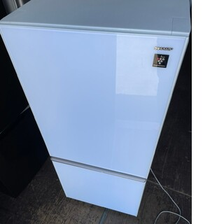 SHARP - SHARP プラズマクラスター 2ドア137L冷蔵庫💍2018年製💍ガラス