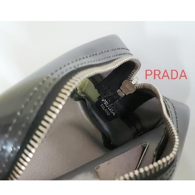 PRADA(プラダ)のPRADA ポーチ コスメ 化粧ポーチ 小物入れ ロゴ ペンケース プラダ レディースのファッション小物(ポーチ)の商品写真