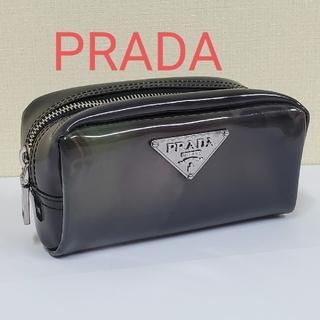 PRADA - PRADA ポーチ コスメ 化粧ポーチ 小物入れ ロゴ ペンケース プラダ